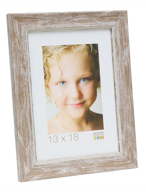 Deknudt Cadres Photo, Résine, Beige, 10 x 15 cm