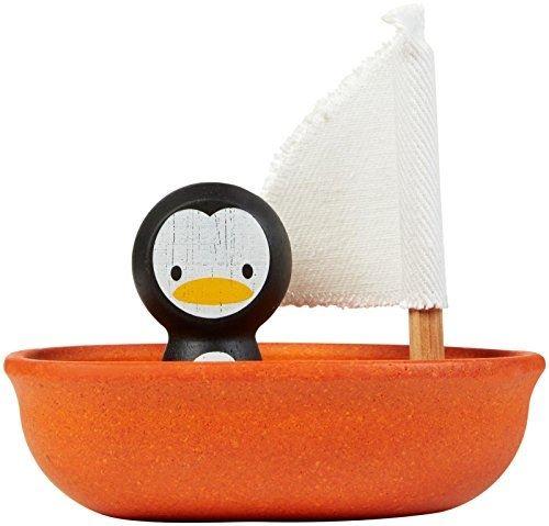 Jouet en bois Plan Toys Bateau Pingouin