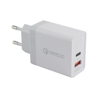 Adaptateur Secteur Type C & USB pour MACBOOK APPLE Double