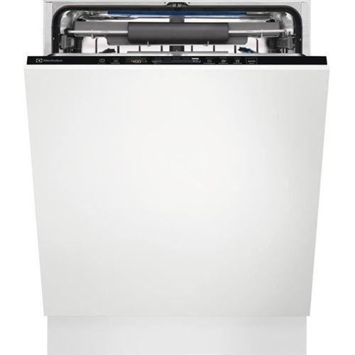 Electrolux EES69300L - Lave-vaisselle - intégrable - Niche - largeur : 60 cm - profondeur : 55 cm - hauteur : 82 cm - noir