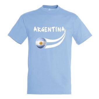 730ff673a818f Supportershop Argentine T-shirt supporter Enfant Bleu Ciel FR : 8 ans  (Taille Fabricant : 8/9 ans) - Supporter de football - Achat & prix | fnac