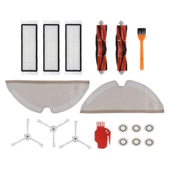 accessoires pour robot aspirateur Xiaomi Roborock Pi/èces de rechange pour Xiaomi Roborock S50 S55 S6 21 pi/èces