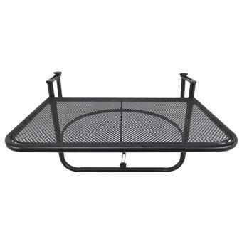 Table suspendue pour balcon dim. 56,5L x 60l cm hauteur ...