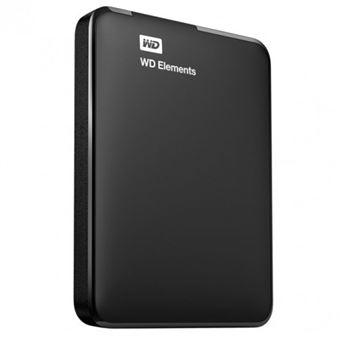 disque dur externe western digital wd elements portable 500go noir disque dur externe. Black Bedroom Furniture Sets. Home Design Ideas