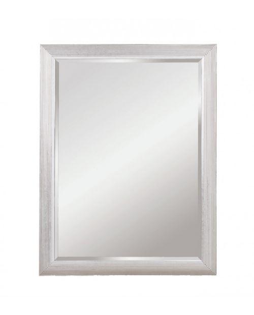 Miroir ATHENS RECTANGLE SILVER Traditionnel Classique Rectangulaire Argenté 82x107 cm