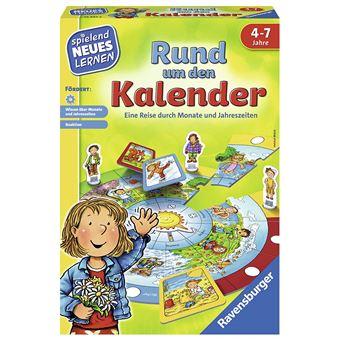Ravensburger 24984/Jeu /éducatif Autour de la Calendrier