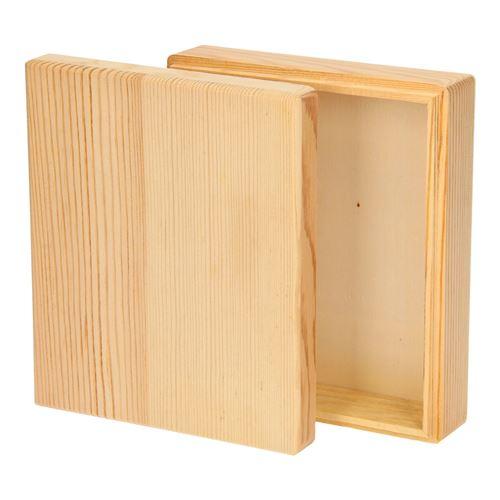 Décorez votre propre plateau de rangement en bois (couvercle séparé)