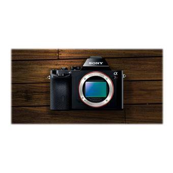 Sony a7R ILCE-7R - Digitale camera - spiegelloos - 36.4 MP - volledig frame - 1080p / 60 beelden per seconde -alleen body - Wi-Fi, NFC - zwart