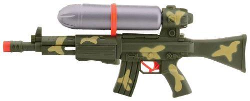 Pistolet / Fusil à eau à pompe forme ak 47 kalashnikov 49cm couleur camouflage