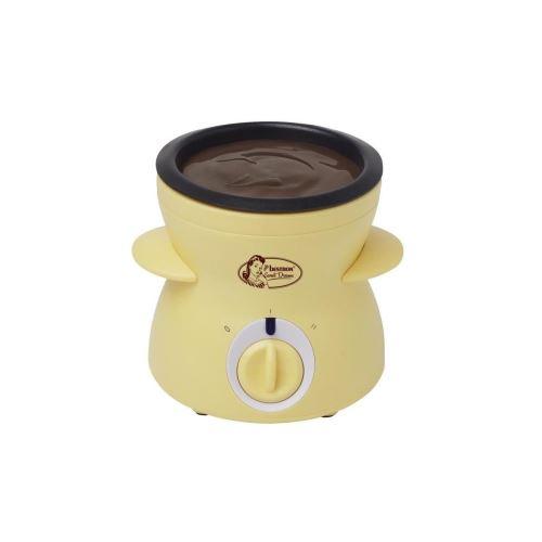 BESTRON DCM043 Fondue a chocolat - Contenance : 0,3L - Jaune Pastel