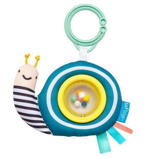 Taf Toys hochet Scotty the Snailjunior 15 cm bleu/jaune
