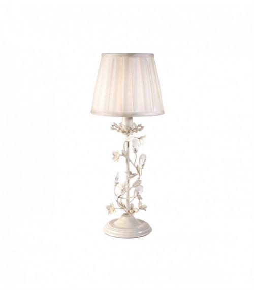 Lampe Lullaby, crème et acrylique