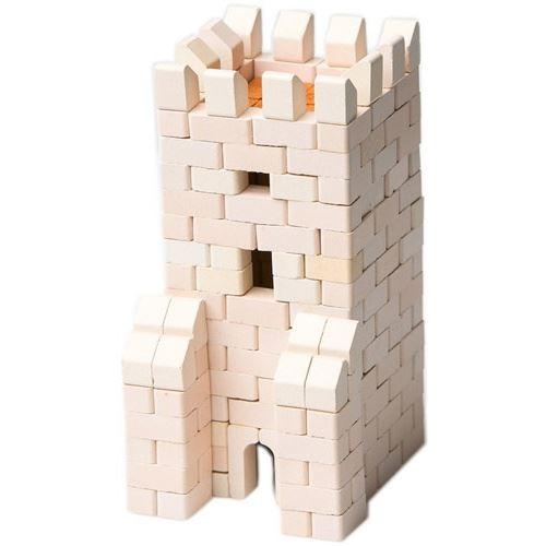 Wise Elk kit de construction Gate Tower junior 13 cm plâtre blanc 301-pièce