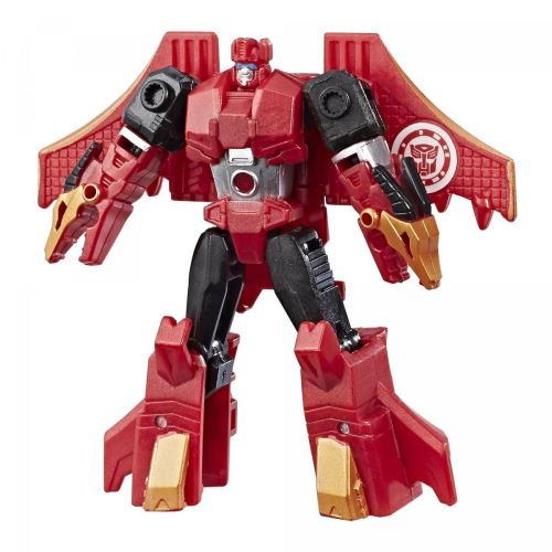 Figurine transformers : robots in disguise legion : twinferno hasbro