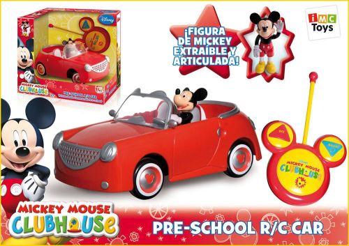 Mickey Voiture Radiocommande avec poupée