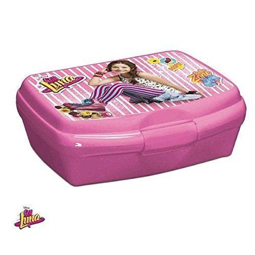 Beta service el51712 soy luna beurre boîte à pain, plastique, multicolore, 15 x 25 x 12 cm