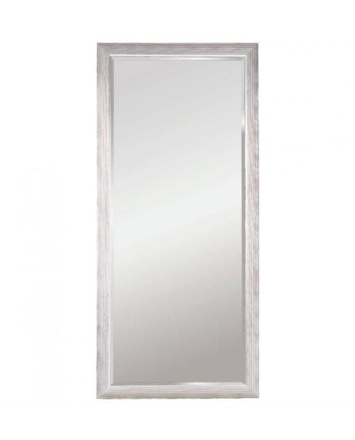 Miroir ATHENS XL SILVER Traditionnel Classique Rectangulaire Argenté 82x182 cm