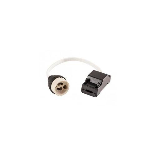 HobbyTech - Douille GU10 céramique avec connecteur rapide, longueur de fil 15 cm