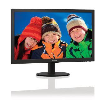 """Philips V-line 223V5LHSB - écran LED - 21.5"""""""