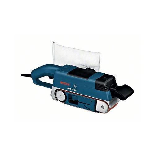 Ponceuse à bande BOSCH 750W GBS 75 AE - avec accessoires - 0601274707
