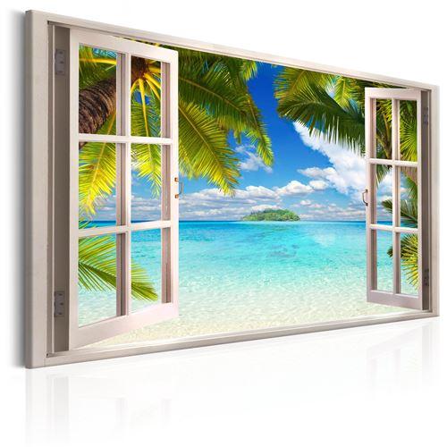 Tableau - Window: Sea View - Décoration, image, art | Paysages | Paysage marin |