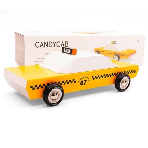 Petites voitures et mini modèles rétro classiques en bois Candylab Americana Véhicules design pour enfants et adultes - Candycab M0501
