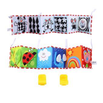 Pare Chocs Bebe Lit Bebe Tissu Livre Bumper Lit Autour Colore Pour Les Enfants Jouet Featur