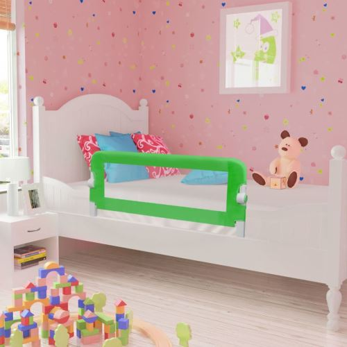 Barrières de lit pour enfants 102 x 42 cm Vert | Vert