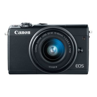 Canon EOS M100 - digitale camera EF-M 15-45mm IS and 55-200mm lenses