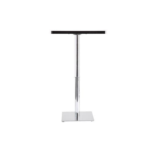 Table de bar noire carrée JACK