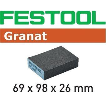 Wolfcraft 8411000 Patins abrasifs Grain 40//80//120 115 x 280 mm Lot de 30