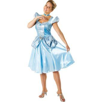 21 46 Sur Disney I 880515m Deguisement Costume Cendrillon Adulte Taille M Panoplie De Deguisement Achat Prix Fnac