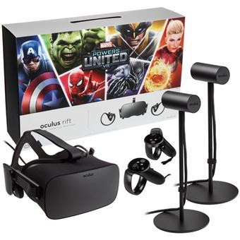 Casque Oculus Rift Vr Touch Controller Paire Marvel Special