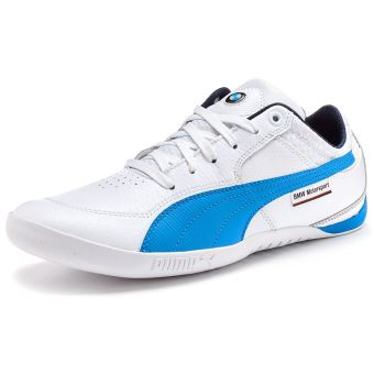 673482d4cff3f Puma BMW Motorsport Chrono Delta Formateurs en Blanc   French Bleu 305363  03  UK 6.5 EU 40  - Chaussures et chaussons de sport - Achat   prix
