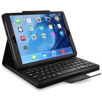 etui de protection avec clavier fran ais azerty fran ais bluetooth pour apple ipad mini 4. Black Bedroom Furniture Sets. Home Design Ideas