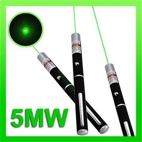 HOT MILITARY 5MW Stylo Pointeur Laser Vert 532nm Lazer Faisceau Haute Puissance