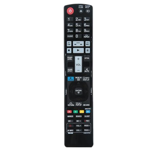 Télécommande Avec Coque Résistant à l'usure Remplacement Pour LG AKB73275501 Blu-ray