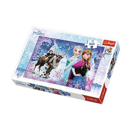 Puzzle Reine des Neiges Aventures - + 6 ans - 160 pièces