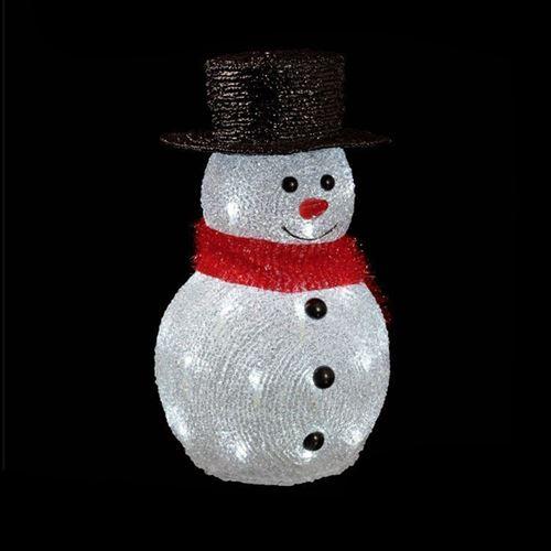 Bonhomme de neige lumineux 32 LED