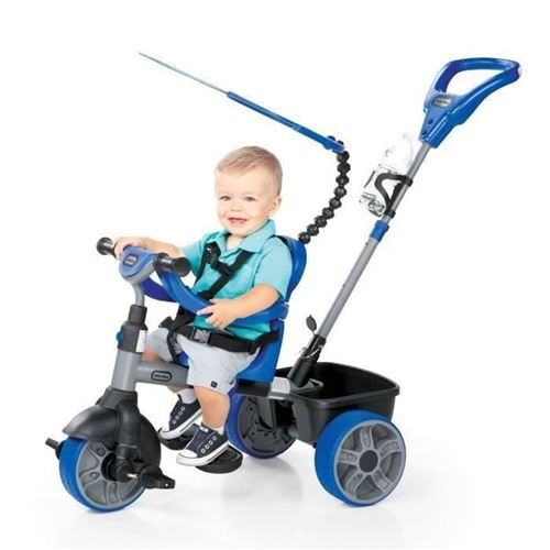 Little Tikes Tricycle Evolutif 4 En 1 Basic Edition Bleu