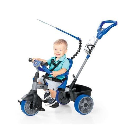 Little Tikes Tricycle Evolutif 4 En 1 Basic Edition Bleu
