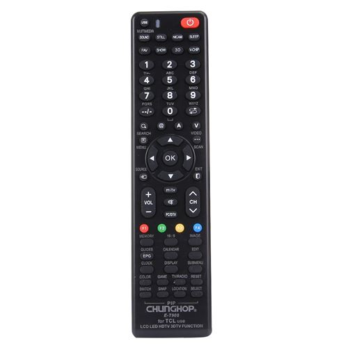 (#103) Universal Remote Controller for TCL LED TV / LCD TV / HDTV / 3DTV
