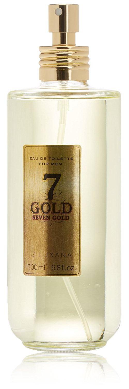 Luxana Seven Gold Eau De Cologne - 200 Ml