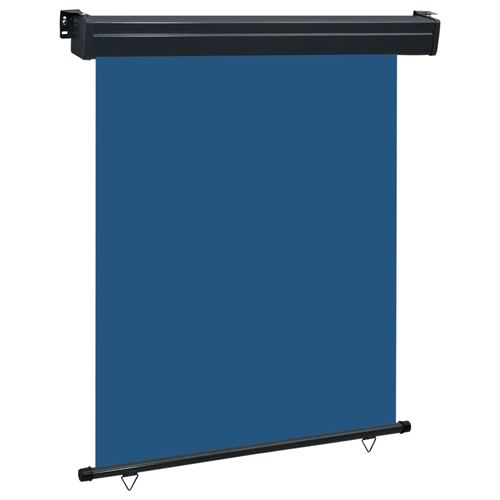 vidaXL Auvent latéral de balcon 140x250 cm Bleu