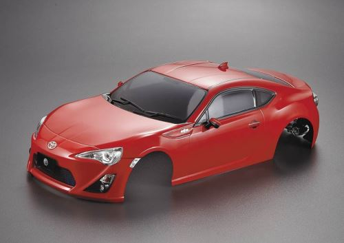 Carrosserie Toyota 86 195mm rouge Peinte