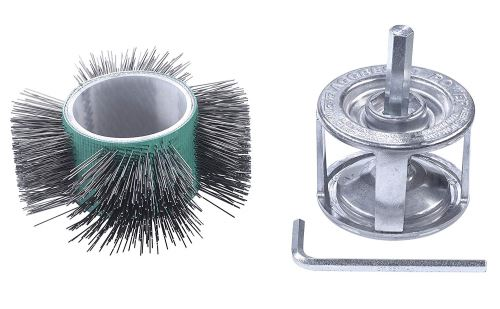 KWB aggresso Power Brosse universelle 602500 (Ø 110 mm, forme droite)