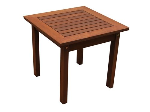 table basse - bois exotique tokyo - maple - marron clair