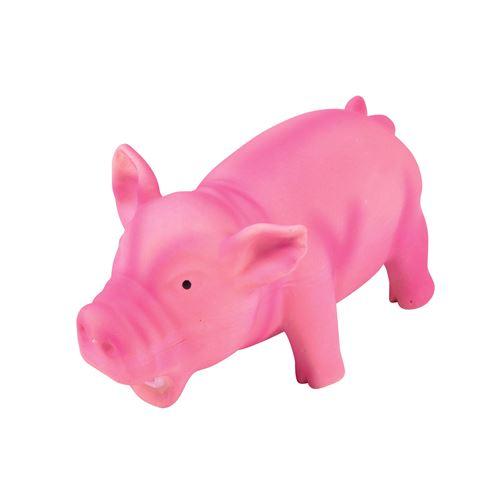 cochon en latex 15cm grogne