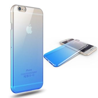 coque bleu iphone 8