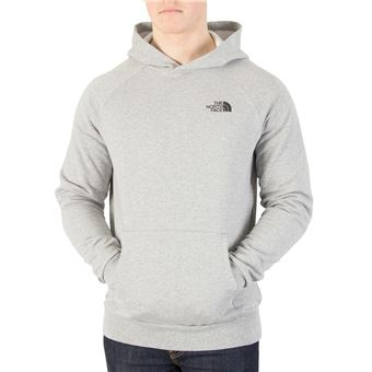 The North Face Homme Sweat à capuche Raglan Red Box, Gris